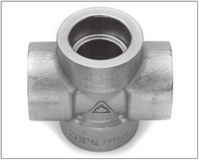 ASTM A105 Carbon Steel Forged Socket Weld Cross