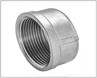 ASTM A105 Carbon Steel Forged Threaded Cap