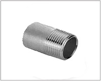 ASTM A182 Alloy Steel Threaded / Screwed Pipe Nipple