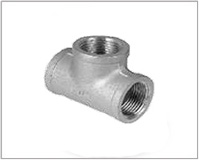ASTM A105 Carbon Steel Threaded / Screwed Tee